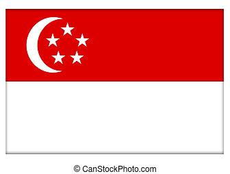Republic of Singapore Flag