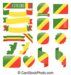 Republic of the Congo flags