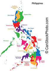 Republic of the Philippines - Map of Republic of the...