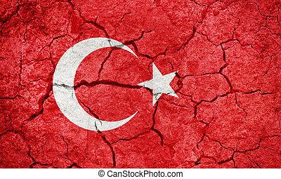 Republic of Turkey flag