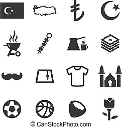 Republic Of Turkey Icons