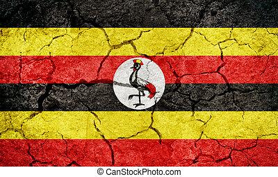 Republic of Uganda flag