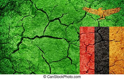 Republic of Zambia flag