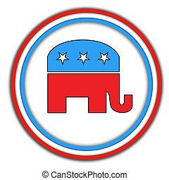 republican-button