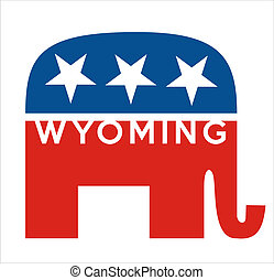 republicans Wyoming - very big size republicans party...