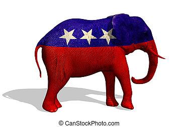republikánský, slon