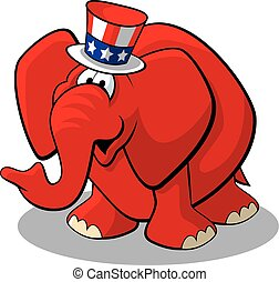 republikein, elefant