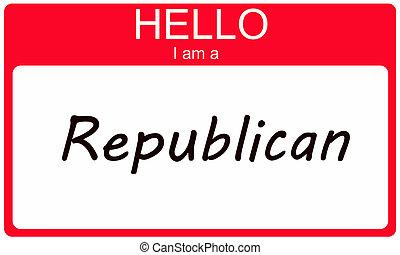republikein, hallo