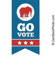 republikein, politieke partij, dier