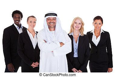 reputacja, arabszczyzna, businesspeople, człowiek