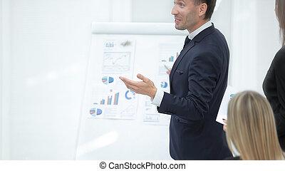 reputacja, .photo, przestrzeń, up.businessman, flipchart, zamknięcie, kopia