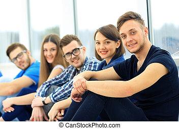 reputacja, togethe, grupa, młodzież