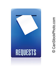 request box illustration design