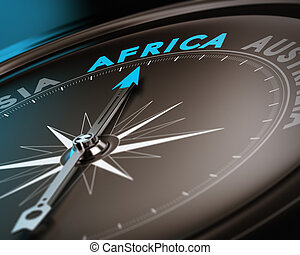 res bestämmelseort, -, afrika