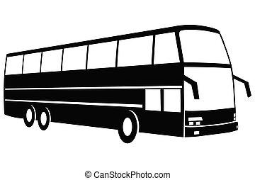 resa, buss, nymodig