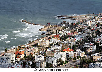resa, foto, av, israel, -, haifa