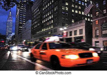 resa, foto, av, new york, -, manhattan
