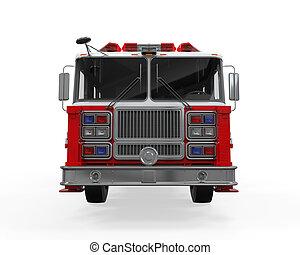 rescate fuego, camión