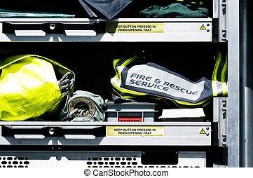 rescate fuego, servicios