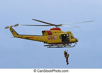 Rescue by heli - rescue by helicopter