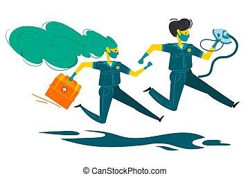 rescue., courses, resuscitators