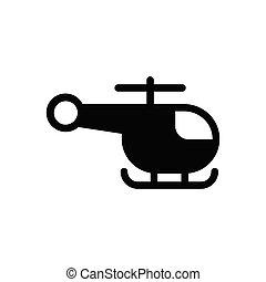 rescue  glyph flat icon