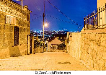 Resdential area in Split