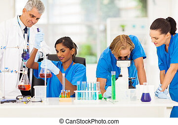 reseachers, grupo, médico