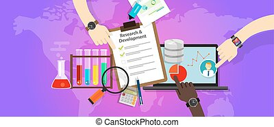 research and development r d concept innovation laboratory