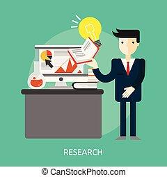 Research Conceptual illustration Design