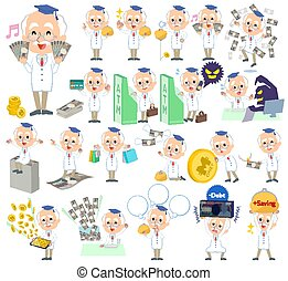 Research Doctor old men_money