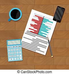 Research finance chart