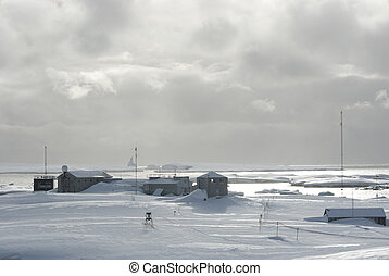 Research Station in Antarctica. - Research Station in ...