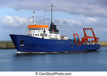 Research Vessel A1 - Offshore oil and gas research vessel...