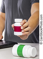 Researching and Comparing Supplement Brands Online