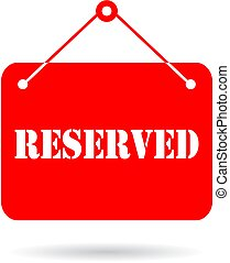 Reserved vector sign