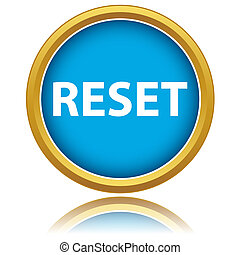 Reset icon on a white background