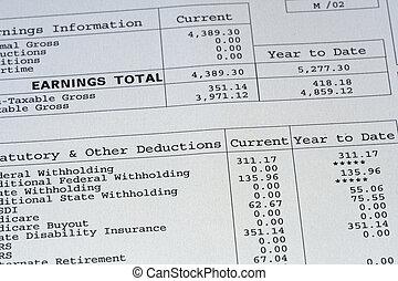 resguardo de cheque salarial
