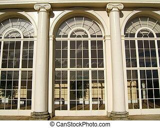 Residence windows - Windows of a luxury residence