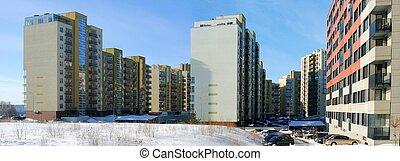 residencial, bloco, perkunkiemis