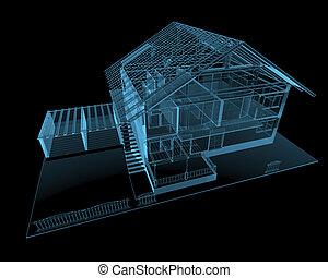 residencial, casa
