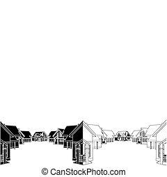 residencial, casas