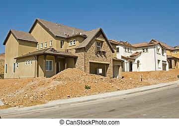 residencial, construção