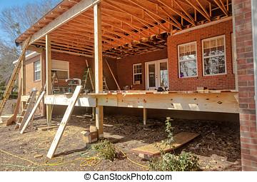 residencial, construcción
