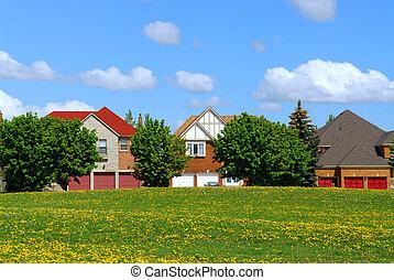 residencial, hogares
