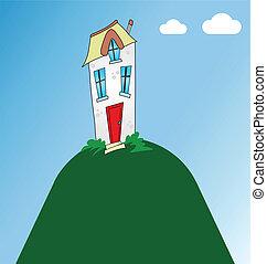 residencial, lar
