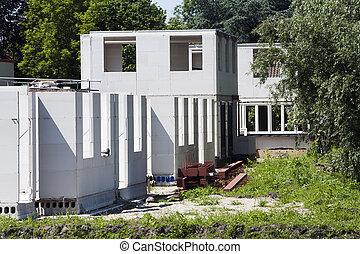residencial, local construção