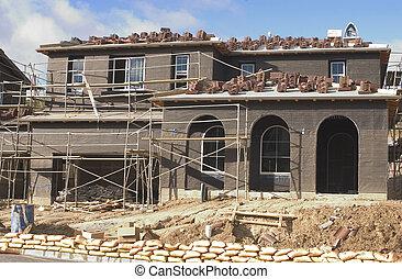 Residental Construc - Home under contstruction