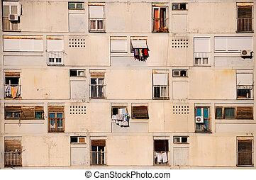 residental, edificio