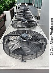 Residential air conditioner compressor units